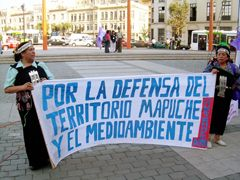 For the defense of the Mapuche Territory and for Natural Environment