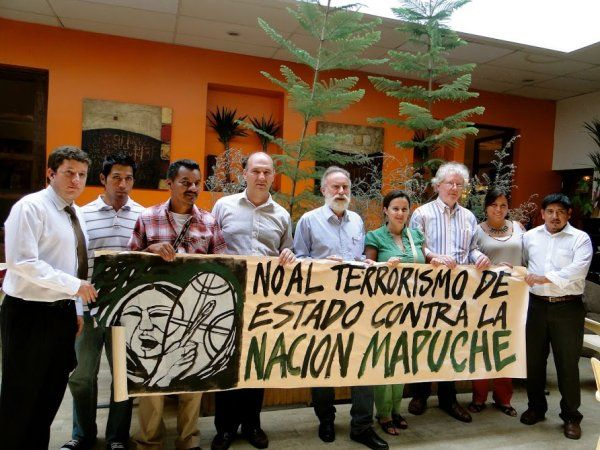 Many progressive groups in Chile oppose state terrorism against the Mapuches and support them in their demands for preservation of the natural environment